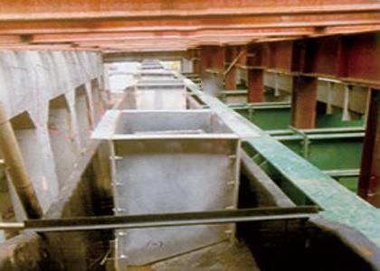 水封槽群罩