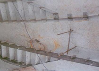 水封槽刮渣板